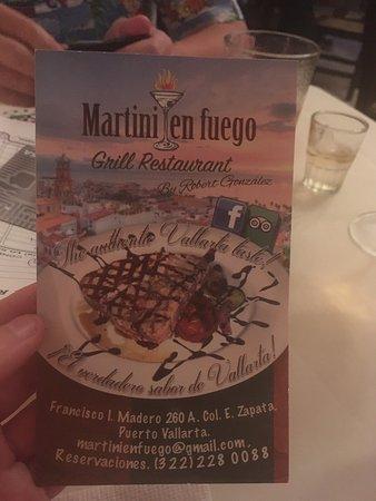 Imagen de Martini en Fuego Grill Bar