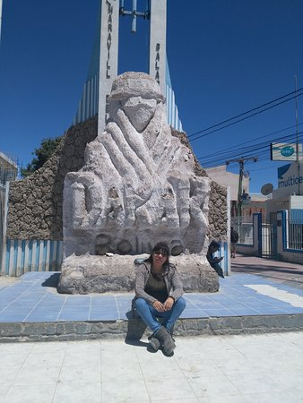 Monumento al Dakar, Ciudad de Uyuni