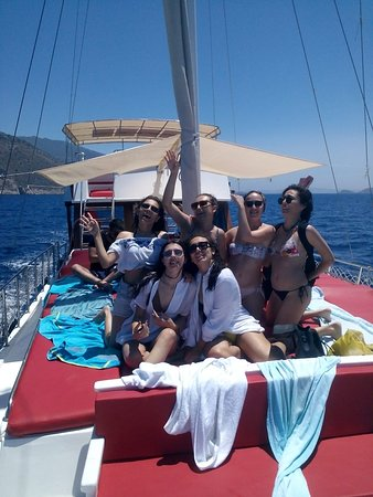 Kalkan, Tyrkiet: enjoy the boat
