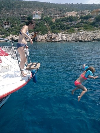 Kalkan, Tyrkiet: enjoy having fun with your family