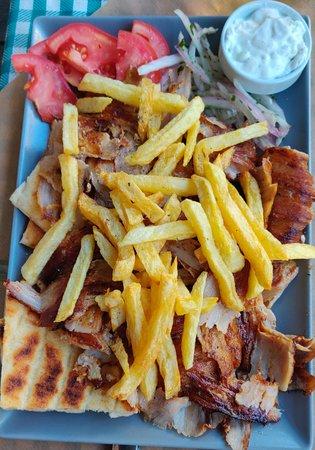 Rigani: Pork Giro (Amazing!!)