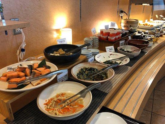 Daiwa Roynet Hotel Nagoya Shinkansenguchi: 朝食ビュッフェ