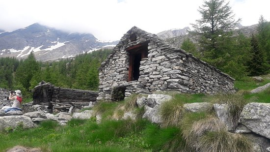 Sentiero Macugnaga - Alpe Bill