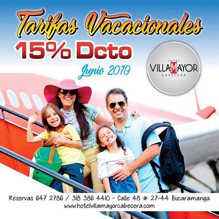 Tenemos para nuestros clientes durante la temporada vacacional de Junio el 15% de descuento