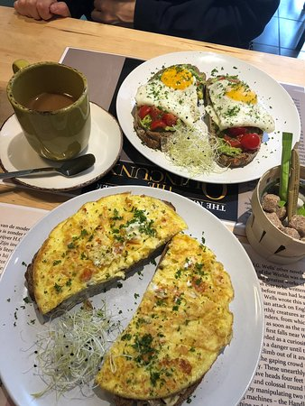 Wonderful breakfast and lunch