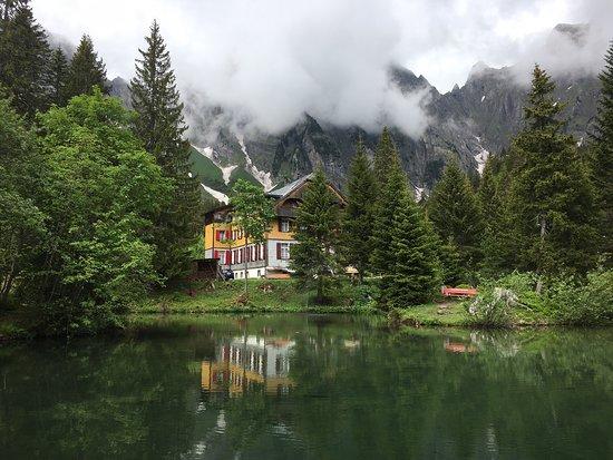 Berschis, Suiza: Restaurant Kurhaus Sennis