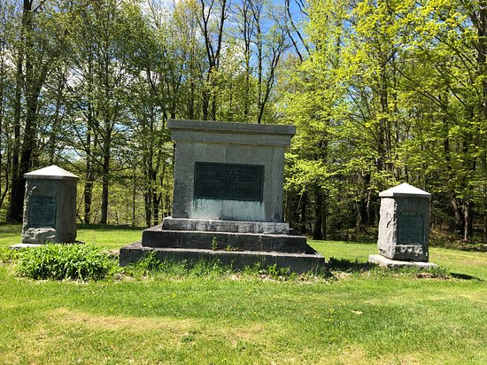 The Memorial to the Unknown Patriots killed in the Battle of Oriskany.