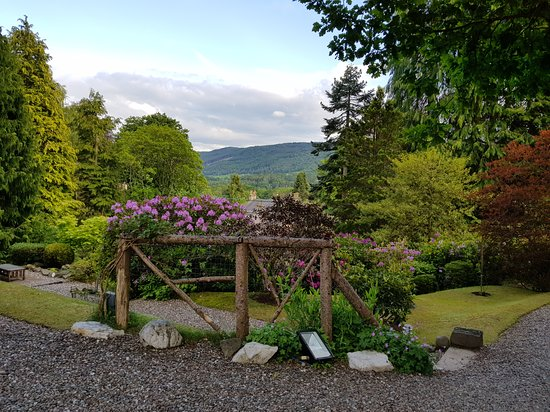 Torrdarach House: Garden as you enter Torrdarach