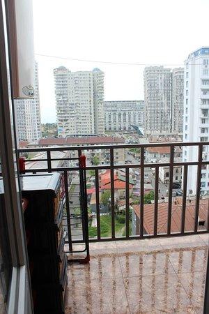 Μπατούμι, Γεωργία: Balcony with view of Batumi