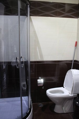 Μπατούμι, Γεωργία: Bathroom with clothes washing machine