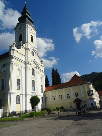 Engelhartszell, Austria: Main entrance