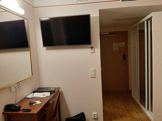 Arthur Hotel: Camera singola vista dal letto