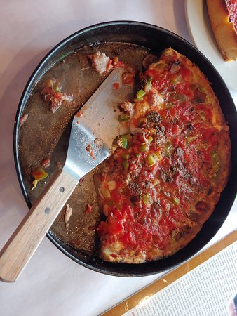 Deep dish pizza.