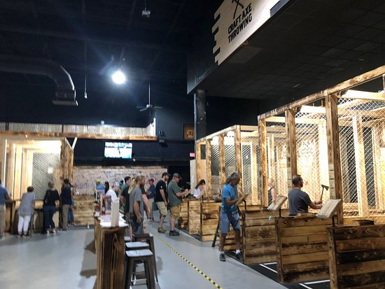 Craft Axe Throwing- Columbia