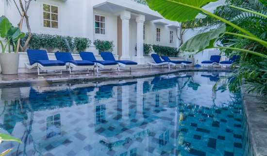 Bali, Indonésie : Relax at our Outdoor Swimming Pool