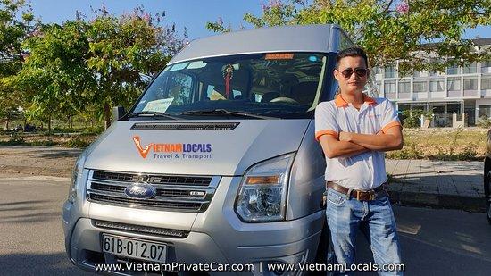 PHONG NHA PRIVATE CAR-FORD TRANSIT PRIVATE VAN