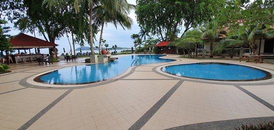 The main (Chlorine) pools