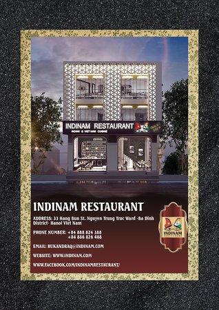 Indinam Restaurant: Indian food