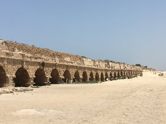 The other stretch of the aqueduct