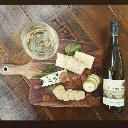 Pipers Brook, Australia: Wine and food