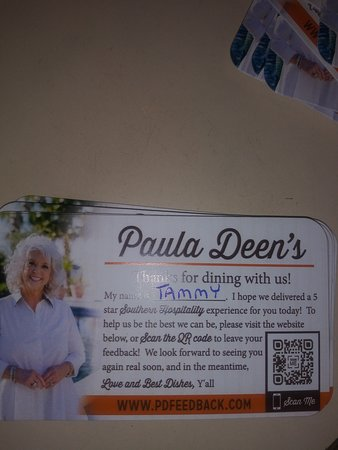 A Southern Lady! - Picture of Paula Deen's Family Kitchen