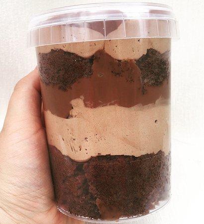 Chocolate Cake Jar