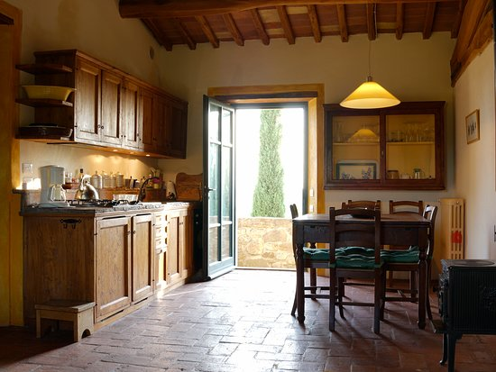 Roccatederighi, Italy: La cucina
