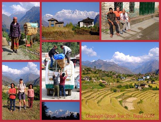 Dhaulagiri Circuit Trek (1) - Nepal 2018