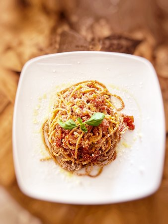 Caprezzo, Italija: Spaghetti al ragù