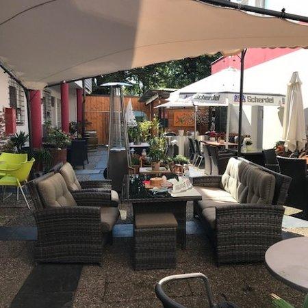 Rehau, ألمانيا: Entspannen Sie in unserem ruhigen Biergarten