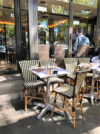 Brasserie - Terrasse - Trocadéro - Paris 16 - Le Malakoff