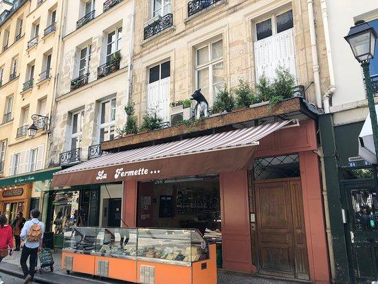Un paradis pour les amateurs de fromage, «La Fermette», au 86 rue Montorgueil, Paris 2ème