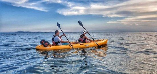Sea Kayaking Ravda-Nesebar : More of the sunset pics! : )