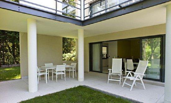 Pavillon Montfleury: terrasse