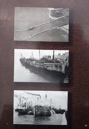 HMS Vindictive: Photos du panneau explicatif