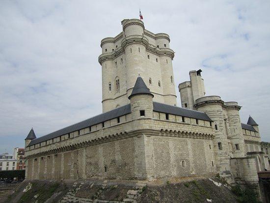 Torre del homenaje en el Castillo de Vincennes