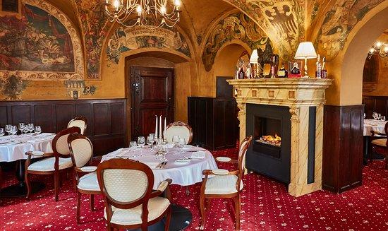 Restaurant U Malířů 1543 - historical interior
