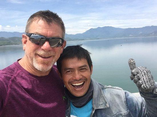 Hué, Vietnam : Mr Huu always with a smile!  Good times my friend...Thanks!
