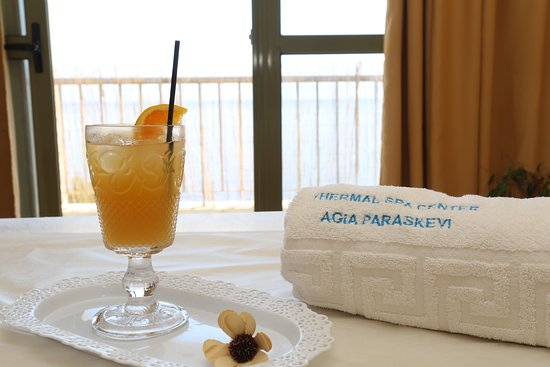 On the cliff, in a magnificent setting overlooking the Aegean Sea, modern spa of Agia Paraskevi has been born, with its experienced staff waiting for revitalizing you.