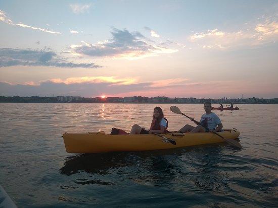 Sea Kayaking Ravda-Nesebar : Chilling after a race! 🥇🥈🥉