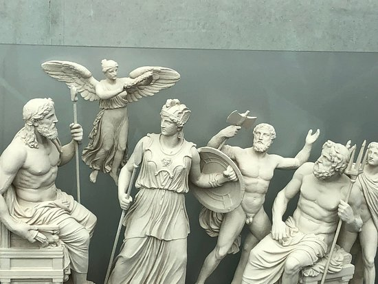 Acropolis Museum: reproduction frieze from the Parthenon