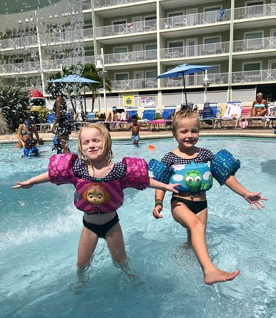 My granddaughters LOVED the water park!