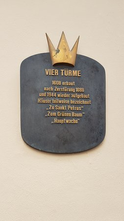 Vier Turme: Short history