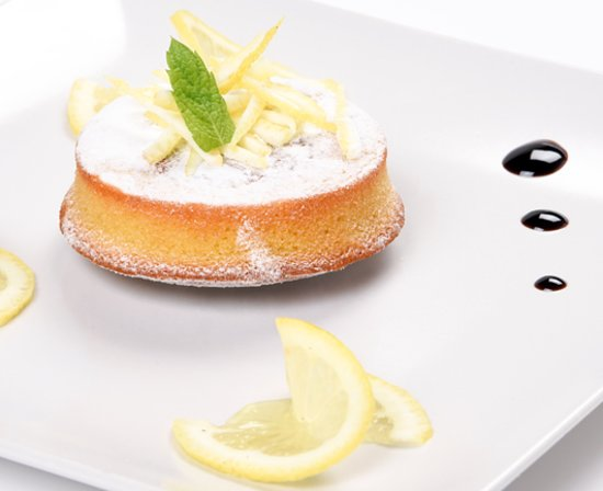 LEMON CAPRESE CAKE CHOCOLATE CAPRESE CAKE: It'a a nice desert produced on original recipe from CAPRI island made with almond flour, lemon and grounded almonds. :
