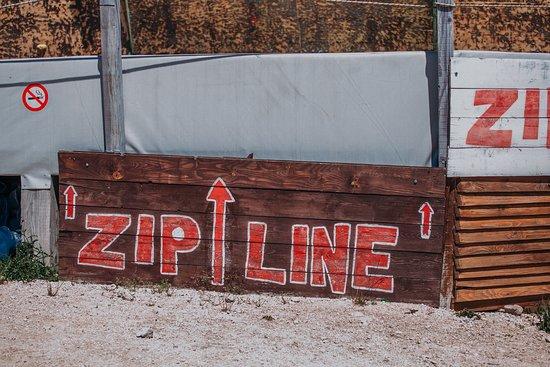 zip line Pazi Medo