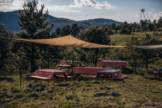 Zip Line Pazi Medo : Lunch in nature