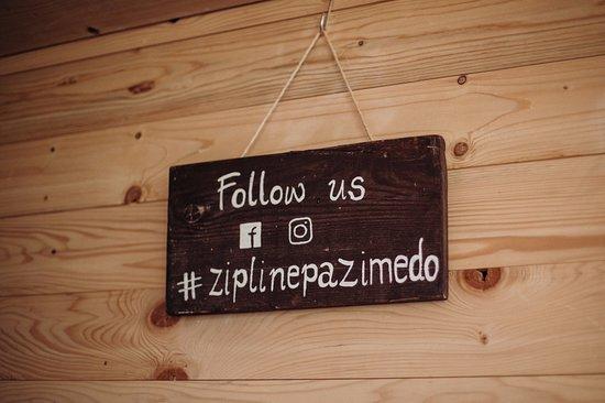 Zip Line Pazi Medo : Follow us on Instagram and Facebook
