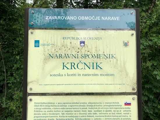Kozbana, Eslovenia: The pond at Krcnik