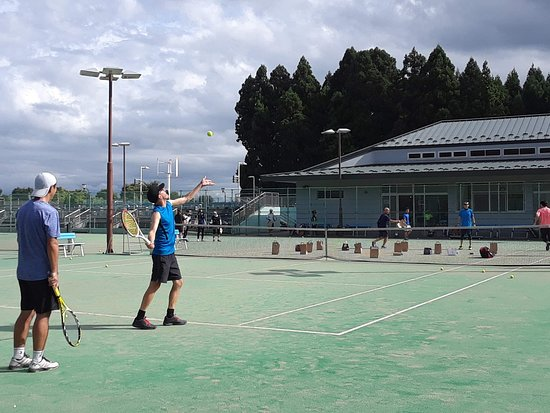 Misawa City MInamiyama Tennis Court