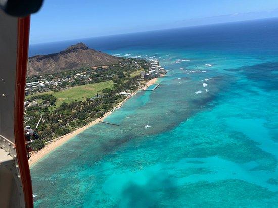 Open-Door Helicopter Tour over Oahu: Nice Beach